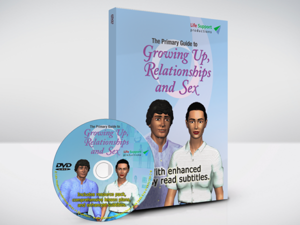 The Primary Guide to Growing Up, Relationships and Sex DVD